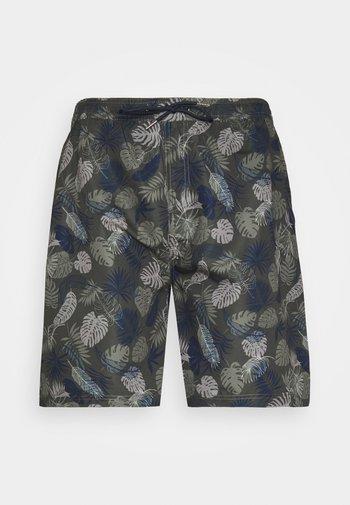 PALM PRINTED - Shorts - army