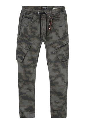 CARLOS - Pantalon cargo - grey