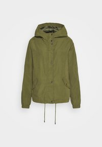 JDY - JDYNEWHAZEL SHINE JACKET - Summer jacket - winter moss - 4