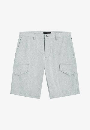 RELAXED FIT - Shorts - mid grey heather