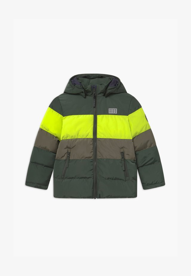 JIPE UNISEX - Winter jacket - dark green