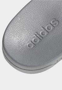 adidas Performance - ADILETTE CLOUDFOAM SLIDES - Pool slides - grey - 10