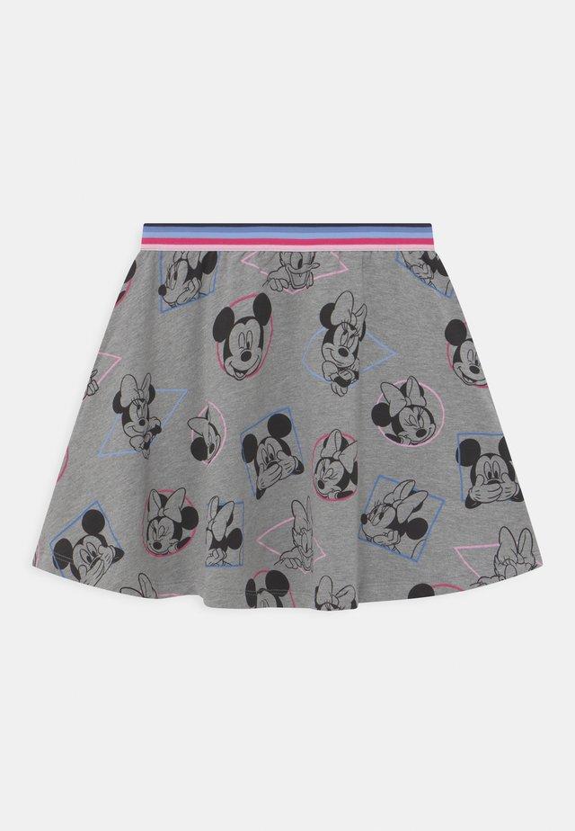 MINNIE - Minifalda - mottled grey