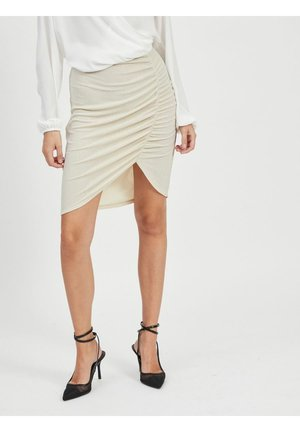 Pencil skirt - frosted almond