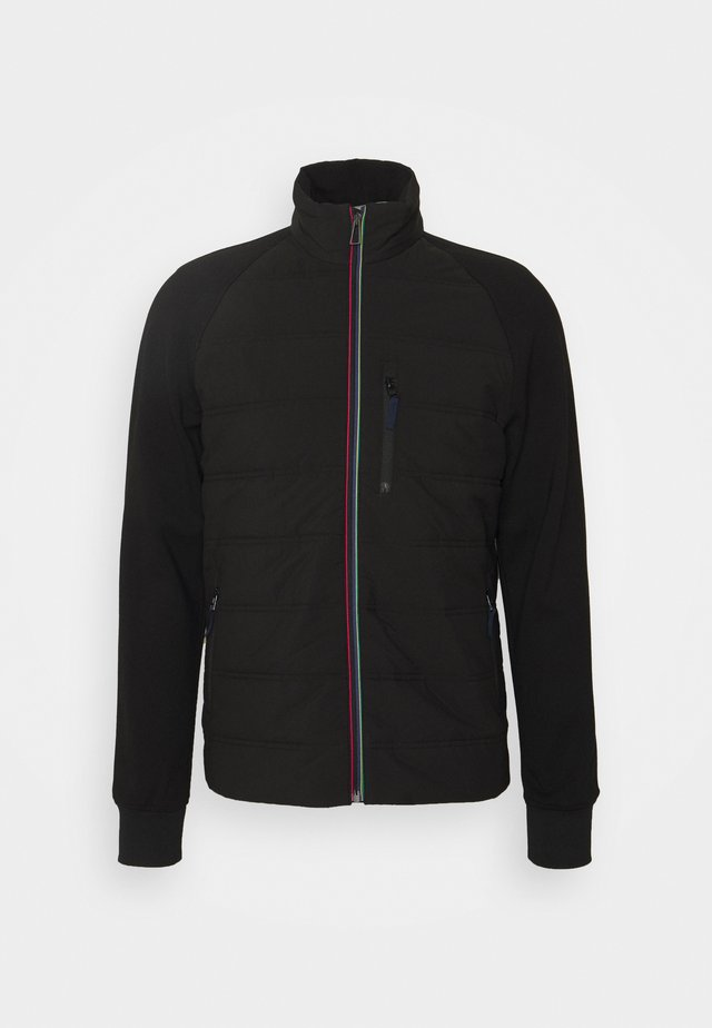 MENS MIXED MEDIA JACKET - Jas - black
