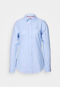 Tommy Jeans - SLIM FIT OXFORD - Button-down blouse - serenity - 3