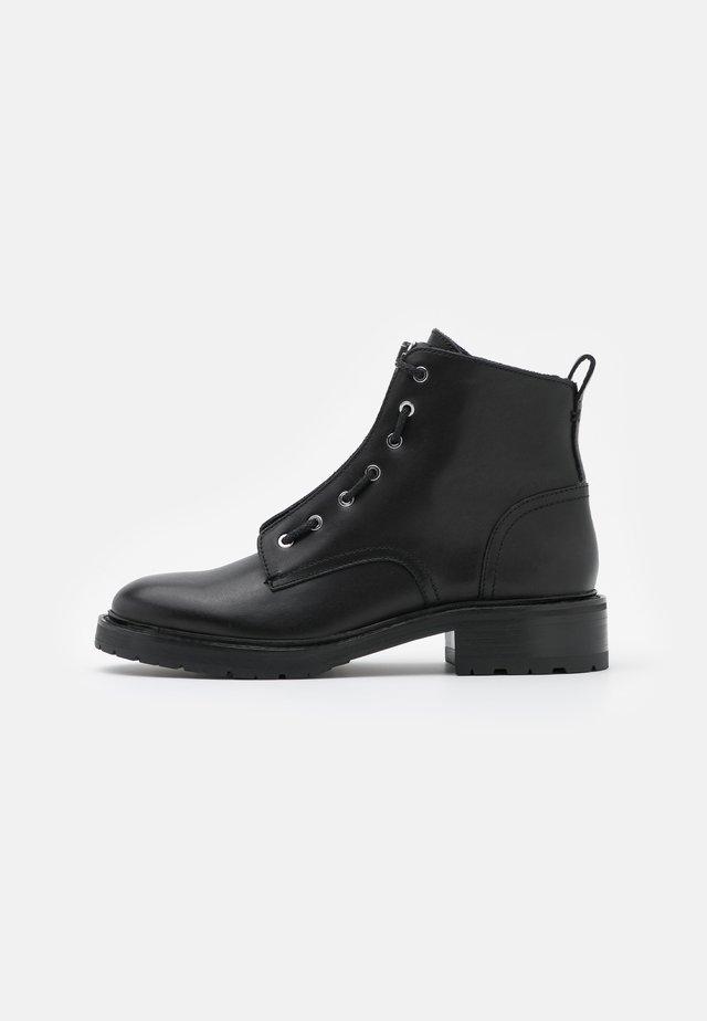 CANNON BOOT - Boots à talons - black