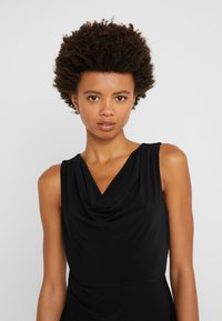 DKNY - SHEATH WITH RUCHING - Shift dress - black - 3