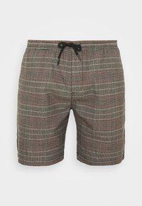 Brave Soul - Shorts - black/grey/red check - 3