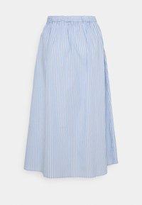 YAS - YASCASA MIDI SKIRT - A-line skirt - eggnog/blue - 1