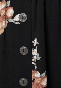 ONLY - ONLNOVA LUX BUTTON SKIRT - A-line skirt - black - 2