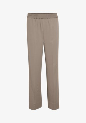 Trousers - sandy grey