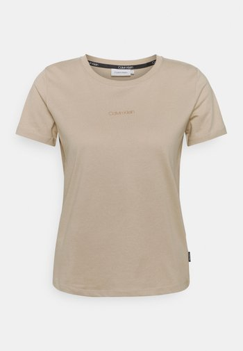 MINI CALVIN KLEIN  - T-shirt - bas - grey