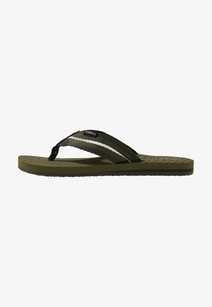 T-bar sandals - winter moss