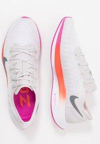 Nike Performance - ZOOM PEGASUS TURBO 2 - Neutral running shoes - vast grey/smoke grey/white/fire pink/team orange/magic ember - 1