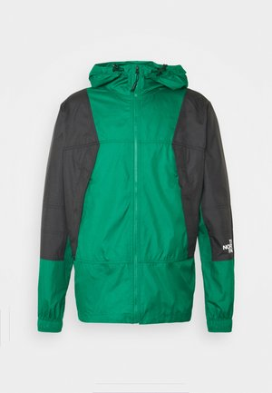 LIGHT WINDSHELL JACKET - Windbreaker - evergreen/black