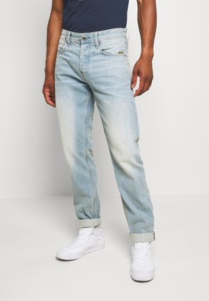 ALUM RELAXED TAPERED - Vaqueros boyfriend - sun faded cyan