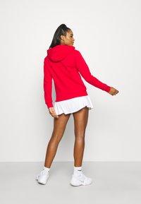 Lacoste Sport - HOOD JACKET - Zip-up sweatshirt - rouge - 2