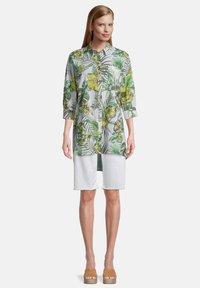 Betty Barclay - Button-down blouse - white/green - 1