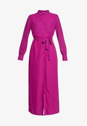 PROVENCE ZIG ZAG DRESS - Day dress - clover