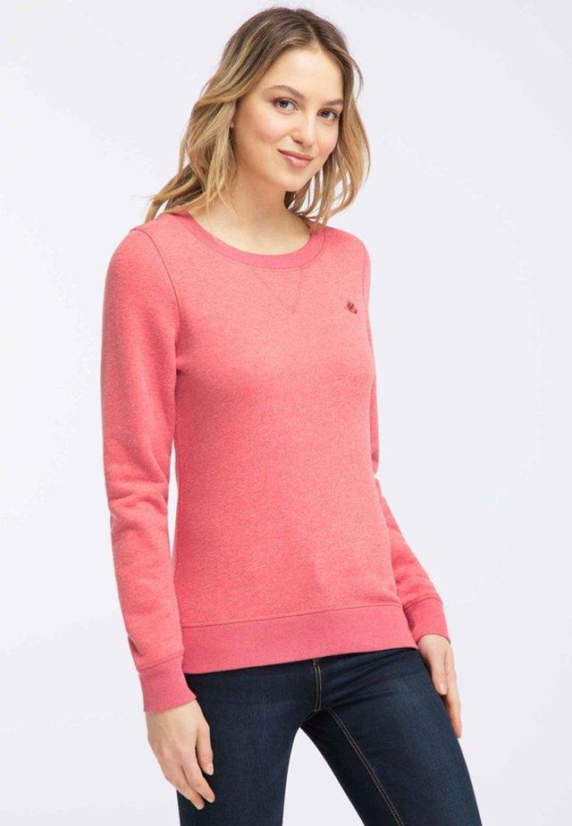 Sweatshirt - red melange