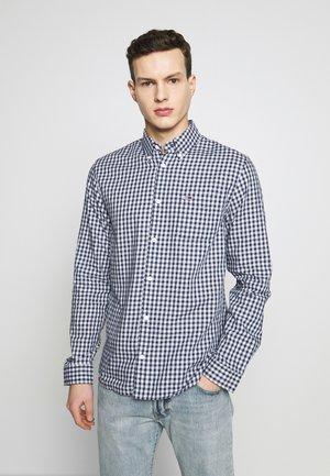 GINGHAM SHIRT - Shirt - black iris/classic white