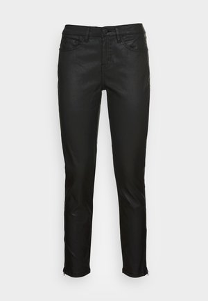 EMILY ZIP - Trousers - black