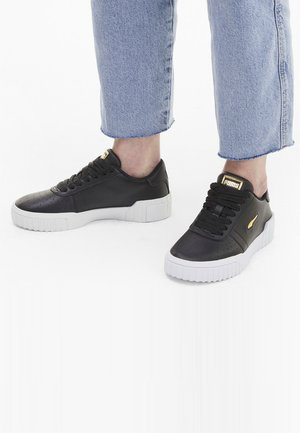 Sneakers laag - black- white