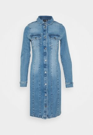 VMAVIIS STITCH DRESS - Jeanskjole / cowboykjoler - medium blue denim