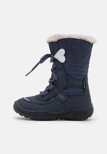 CRYSTAL - Winter boots - blau