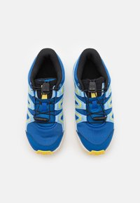 Salomon - SPEEDCROSS UNISEX - Hiking shoes - turkish sea/little boy blue/lemon zest - 3