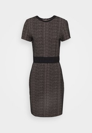 NARITE - Pouzdrové šaty - black