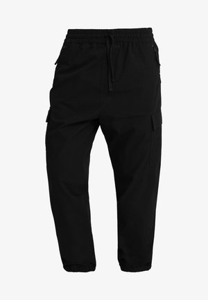 JOGGER COLUMBIA - Cargo trousers - black rinsed