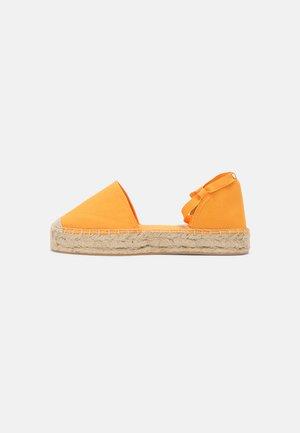 Espadrilles - orange
