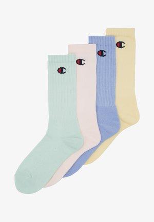 PASTEL CREW SOCKS 4 PACK UNISEX - Sports socks - multi-coloured
