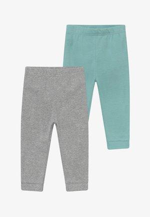 NEUTRAL BABY 2 PACK - Pantalon classique - mottled grey/turquoise