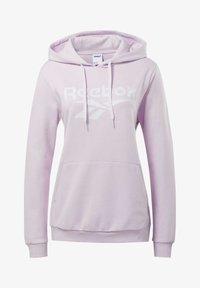 Reebok Classic - CLASSICS VECTOR HOODIE - Bluza z kapturem - pixel pink - 6