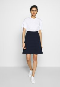 HUGO - SHANAHAN - A-line skirt - open blue - 1