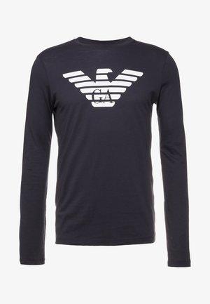Langærmede T-shirts - blu scuro