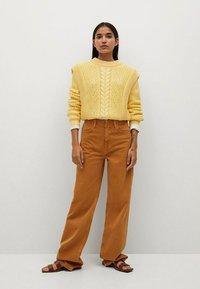 Mango - Jumper - amarillo - 1