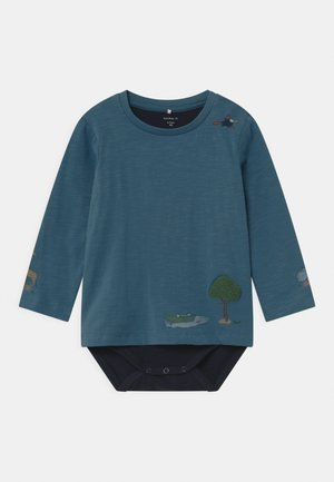 NBMTOLLE  - Long sleeved top - real teal