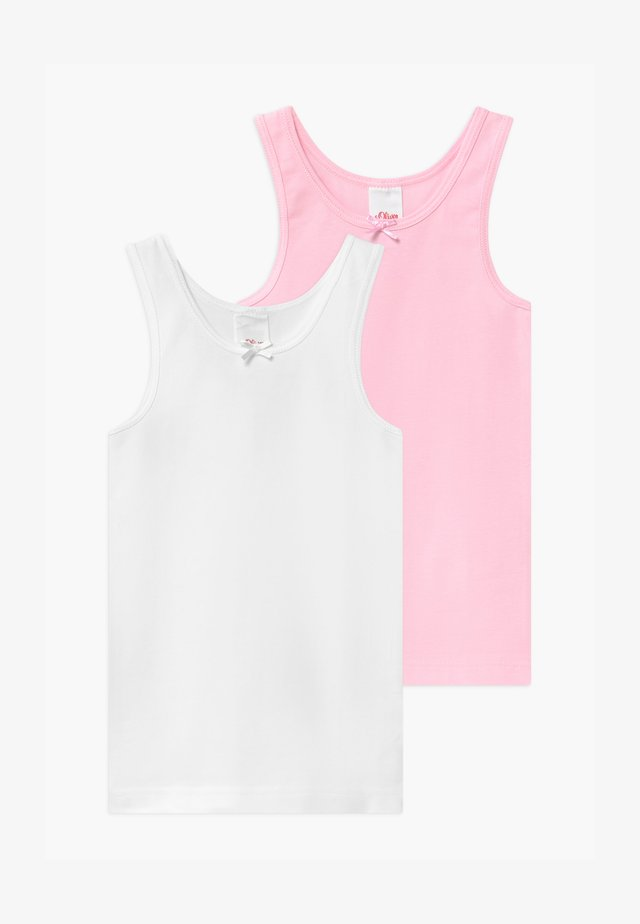 2 PACK - Camiseta interior - light pink