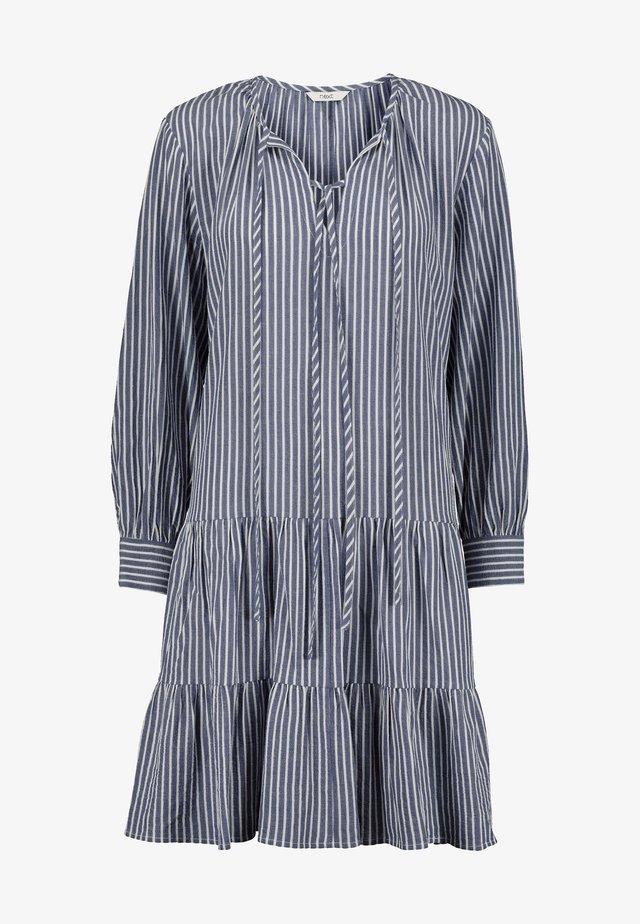 TIERED - Denní šaty - blue