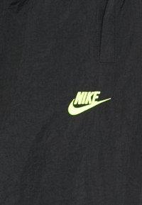 Nike Performance - PANT - Træningsbukser - black/hot lime - 2