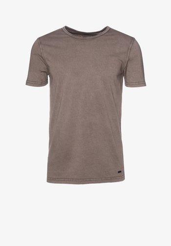 TOKKS - Basic T-shirt - brown