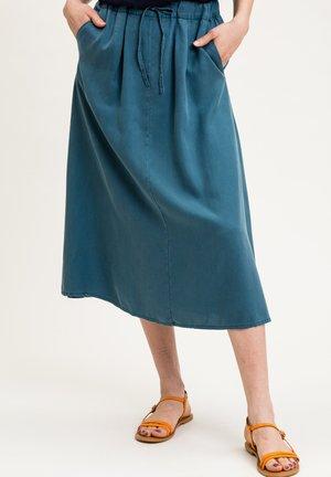 CALLAINA - A-line skirt - petrolblau