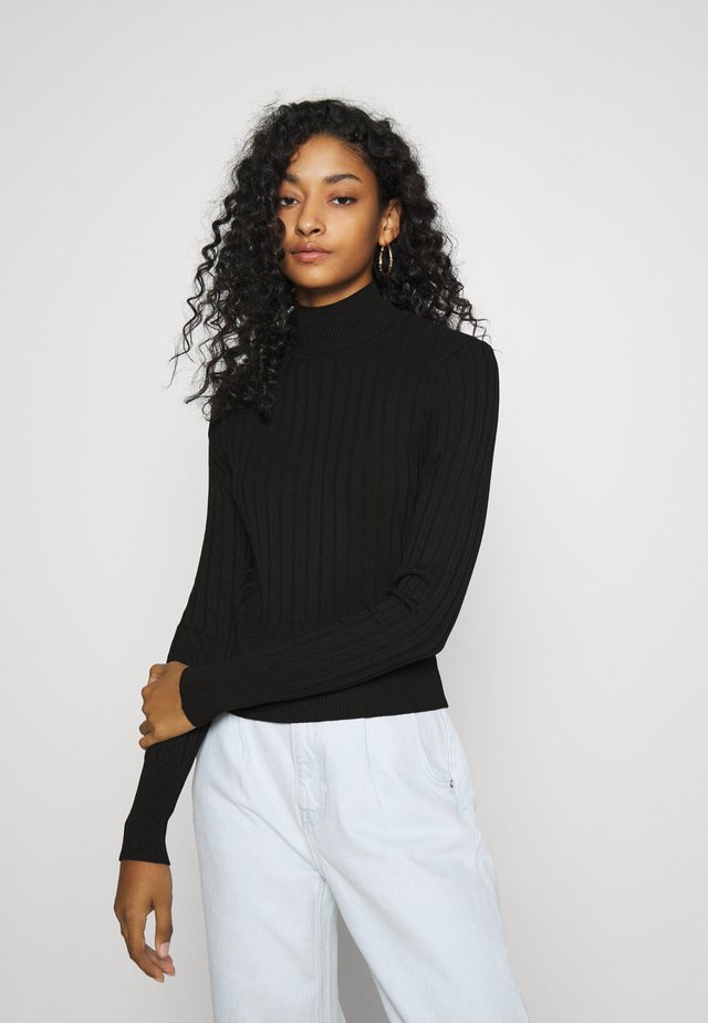 ISA SWEATER - Pullover - black