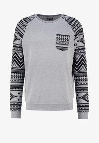 YOURTURN - Sweatshirt - mottled grey - 4