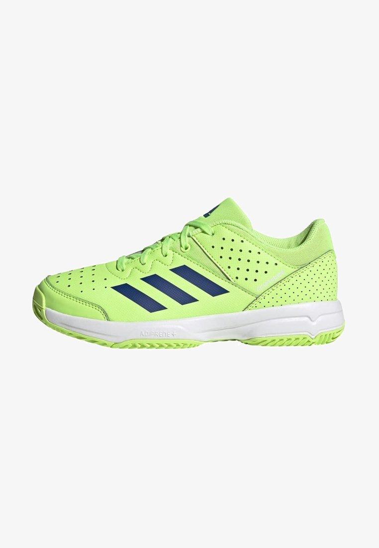 adidas Performance - COURT STABIL UNISEX - Handball shoes - siggnr/royblu/ftwwht