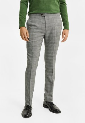 ILLAN - Broek - blended light grey